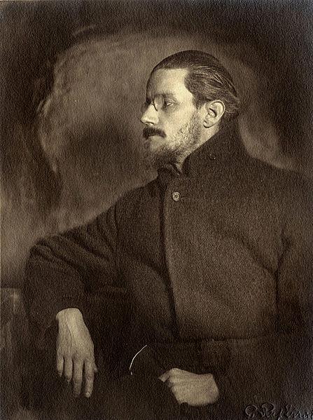 Black and White Image of James Joyce