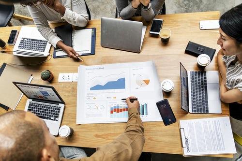 Analysing Business data.