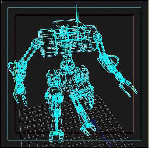 Schematic of a Robot
