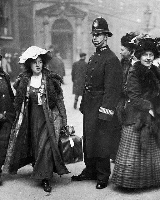 Photo of Suffragette Mabel Capper