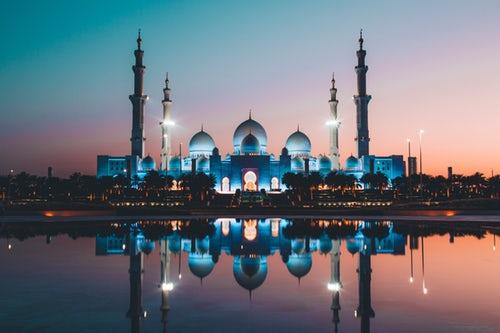 Abu Dhabi's Sheikh Zayed Grand Mosque